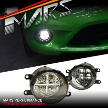 MARS High Power LED DRL Bumper Bar Driving Fog Lights for Toyota Kluger & RAV4