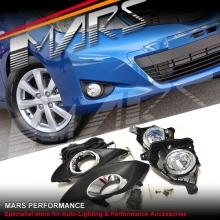 MARS Bumper Bar Driving Fog Lights for Toyota Yaris 11-13 Hatch