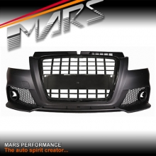 S3 RS3 Style Front Bumper Bar with Grille for AUDI A3 8P 09-13 Update Facelift model