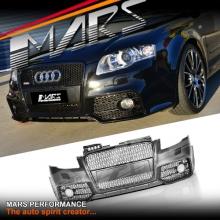 RS4 Style Front Bumper Bar for AUDI A4 B7 Sedan & Avant