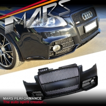 RS4 Style Front Bumper Bar for AUDI A4 B7 Sedan & Avant
