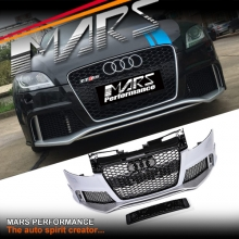 RS Style Front Bumper Bar with Grille for AUDI TT 8J MY06-MY14 Coupe & Convertible