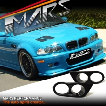 HAMANN Style Fog Lamp Covers for BMW M3 E46 Front Bumper Bar
