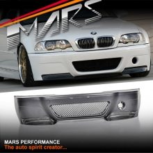 M3 CSL Style Front Bumper Bar for BMW E46 2D Coupe & Covertible