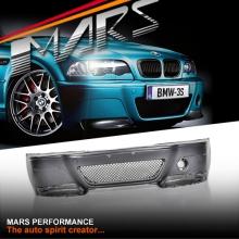 M3 CSL Style Front Bumper Bar for BMW E46 4D Sedan & Wagon