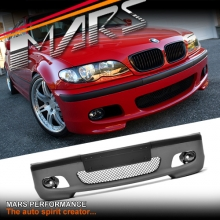 M Tech / M Sports Style Front Bumper Bar for BMW E46 4D Sedan & Wagon