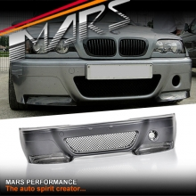 CSL Style Front Bumper Bar for BMW E46 M3 Coupe & Covertible