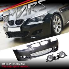 M5 style Front Bumper Bar for BMW E60 E61 Sedan Wagon 03-07