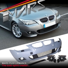 M Tech M Sports Front Bumper Bar for BMW E60 E61 Sedan Wagon 08-09