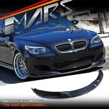 Hamann style Carbon lip spoiler for MARS BMW E60 E61 M5 Style front bumper bar