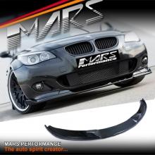 Hamann style Carbon lip spoiler for BMW E60 Genuine M5 front bumper bar