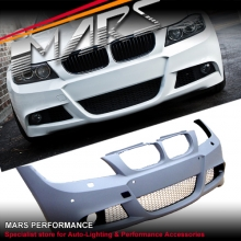 M Tech Sports Style Front Bumper Bar for BMW E90 E91 09-11 Sedan & Wagon