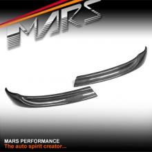 Carbon Fibre Front Bumper Splitter Lips Spoiler for E92 coupe & E93 convertible 06-09 Pre LCI