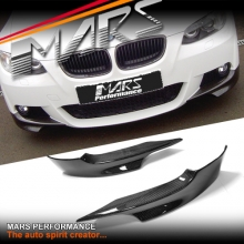 Performance Style Front Bumper Bar Carbon Fiber Splitter for BMW E92 E93 M Tech 06-09 Pre LCI