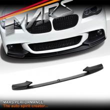 BMW M Performance Style ABS Plastic Front Bumper bar lip for F10 Sedan & F11 Wagon 10-13 Pre LCI