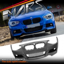 M135i M Tech Sports Style Front Bumper Bar with for BMW F20 Pre LCI Hatch