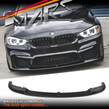 BMW M Performance Style ABS Plastic Front lip for MARS M3 F30 E92 M4 F33 F32 aftermarket Bumper bar
