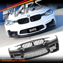 F80 M3 Style Front Bumper Bar for BMW 3-Series F30 Sedan F31 Wagon
