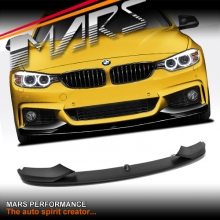 BMW M Performance Style ABS Plastic Front Bumper bar lip for 4 Series M Sport F32 F33 F36