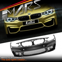 F82 F83 M4 Style Front Bumper Bar for BMW 4-Series F32 Coupe F33 Convertible or F36 Sedan