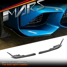 M Performance Style Carbon Fibre Front bumper Bar Splitter Lip Spoiler for BMW F87 M2