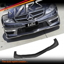 God-Hand style front bumper bar Carbon lip for Mercedes-Benz W204 AMG C63 11-14
