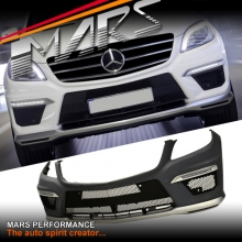 AMG ML63 Style Front Bumper Bar & DRL for Mercedes-Benz ML Class W166