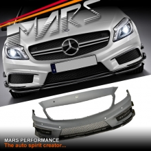AMG A45 Style Front Bumper Bar for Mercedes-Benz A Class W176 Hatch 12-15