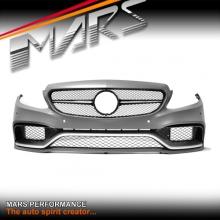 AMG C63 Style Front Bumper bar for Mercedes-Benz W205 Sedan & S205 Wagon