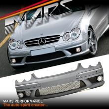 AMG CLK63 Style Front Bumper Bar for Mercedes-Benz CLK Class W209 C209