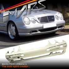 AMG E55 Style Front Bumper Bar for Mercedes-Benz E-Class W210 99-02