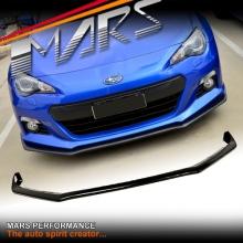 STi S Pack Style Carbon Fibre Print Front Bumper Bar Lip Spoiler for Subaru BRZ