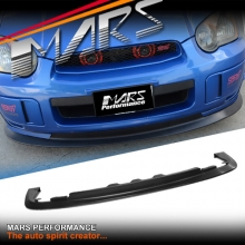 STi Style Front Bumper bar Lip Spoiler for SUBARU GD IMPREZA 03-05 Include WRX