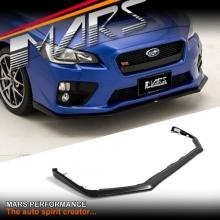 STI Style Carbon Fibre Print Front Bumper bar lip Spoiler for SUBARU WRX & STi 14-17