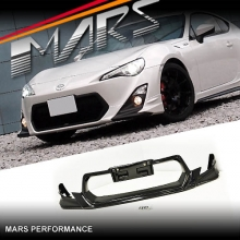TRD Style Front Bumper Bar Lip for TOYOTA 86 GT & GTS