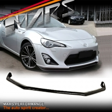 STi S Pack Style Carbon Fibre Print Front Bumper Bar Lip Spoiler for TOYOTA 86 GT GTS 12-16