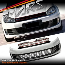 GTI Style Front Bumper Bar with Grille & Fog lights for VolksWagen VW Golf VI 6