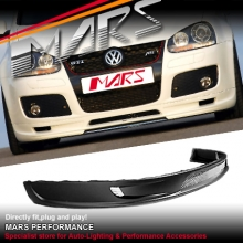 Plastic Front Bumper Bar Lip Spoiler for VolksWagen VW Golf V 5 GTI 03-08