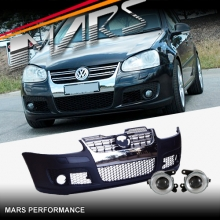 R32 Style Front Bumper Bar for VolksWagen VW Golf V 03-08