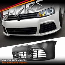 R Style Front Bumper Bar with DRL Fog lights for VolksWagen VW Jetta 1B 11-16