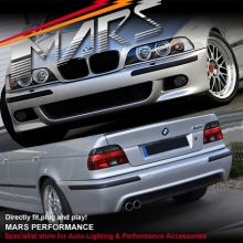M5 style Front Bumper & Rear Bumper & Fog Lamps for BMW E39 Body-Kits