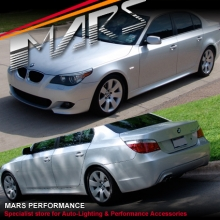 BMW E60 M Tech M Sports Style Side Skirts & Front Bumper with Fogs & Rear Bumper 03-07