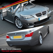 BMW E60 M Tech M Sports Style Side Skirts & Front Bumper with Fogs & Rear Bumper 08-09