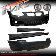 M Tech style Front & Rear Bumper bar & Side Skirts for BMW E92 Coupe 06-09