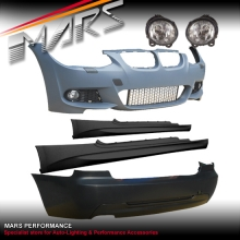 M Tech style Front & Rear Bumper bar & Side Skirts for BMW E92 LCI Coupe 10-12
