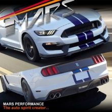 Shelby GT350 Style Front & Rear Bumper Bar Body Kits for Ford Mustang FM 2015-2017