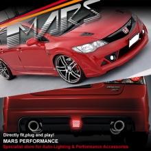 Mugen RR Style Front & Rear Bumper & Side Skirts for Honda Civic FD Sedan 06-12