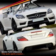 AMG SLK55 Style Front & Rear Bumper bar & Side Skirts for Mercedes-Benz SLK Class R172