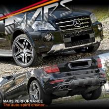 AMG ML63 Style Front & Rear Bumper bar for Mercedes-Benz ML Class W164 09-12