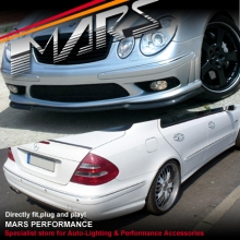AMG E55 Style Front & Rear Bumper bar & Side Skirts for Mercedes-Benz W211 Sedan 03-06